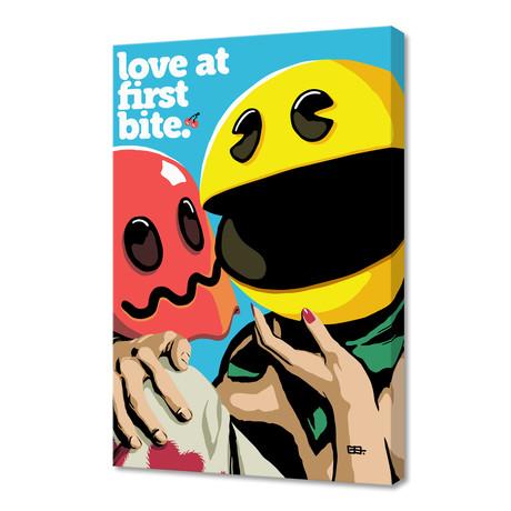 "Love at First Bite (16""W x 24""H x 1.5""D)"