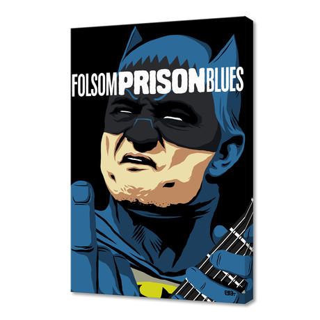 "Folsom Prison Blues (16""W x 24""H x 1.5""D)"