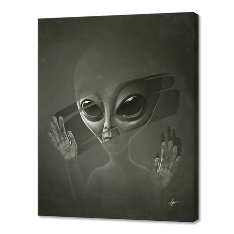 "Alien (16""W x 24""H x 1.5""D)"