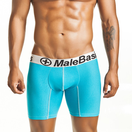 Lycra Athletic Boxer Brief // Turquoise (S)