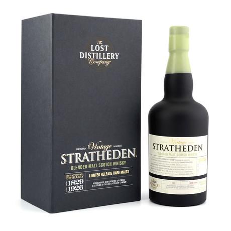 Vintage Edition Scotch Set // Gerston + Stratheden // 750 ml Each