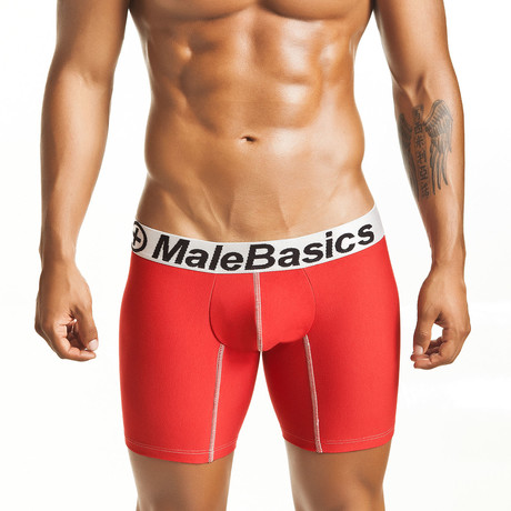 Lycra Athletic Boxer Brief // Red (S)