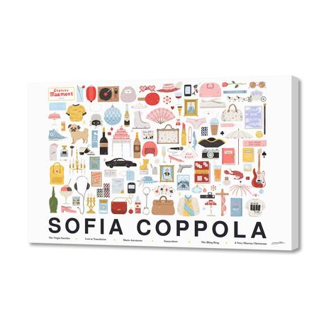 """Sofia Coppola (16""""W x 24""""H x 1.5""""D)"""