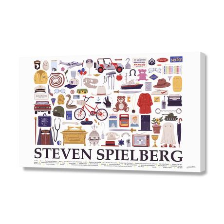 "Steven Spielberg (16""W x 24""H x 1.5""D)"