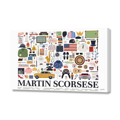 "Martin Scorsese (16""W x 24""H x 1.5""D)"