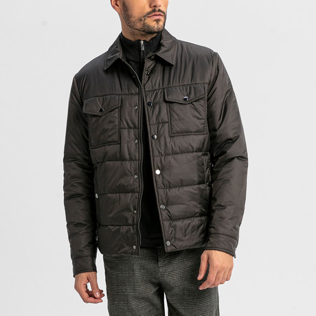 Shape Coat // Dark Brown (S)