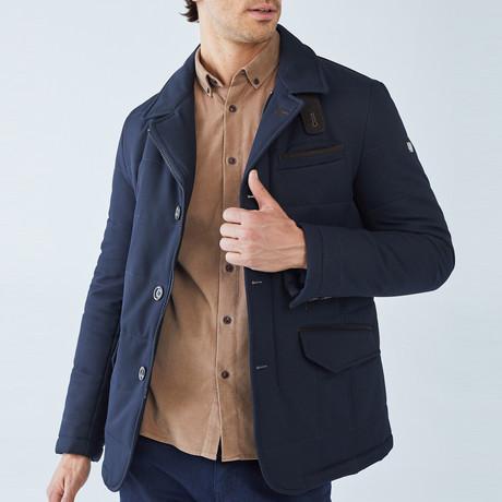 Manton Coat // Navy (S)