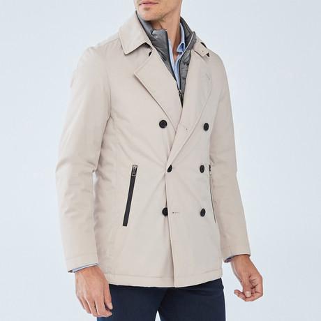 Penn Coat // Beige (S)