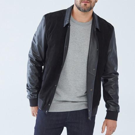 Stanley Leather Jacket // Black (S)