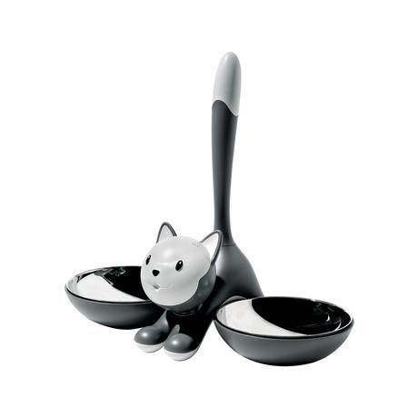 Tigrito Cat Bowl (Black)