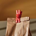Lampo Cat Bag Clip + Magnet // Set of 2 (Black)