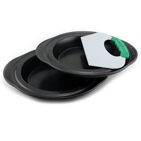 Perfect Slice Pie Pans + Slicer // 3-Piece Set