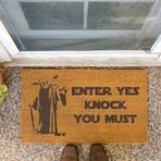 Yoda Enter Knock You Must