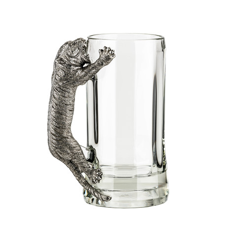 Menagerie Beer Mug // Tiger