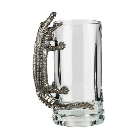 Menagerie Beer Mug // Alligator