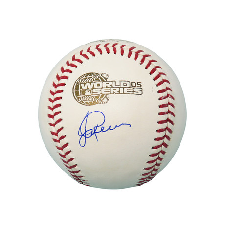 Jerry Reinsdorf // Signed Rawlings Baseball // Official 2005 World Series // Chicago White Sox