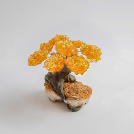 The Harmony Tree // Citrine Tree + Citrine Matrix // Medium