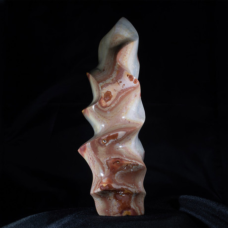 Polychrome Agate Sculpture