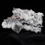 Calcite, Chalcedony and Stilbite