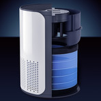 Compact HEPA Air Purifier with Essential Oil Amplifier