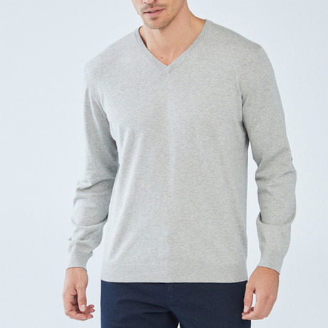 Boris Becker // Tank Sweater // Gray (Small)