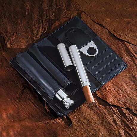 Churchill Cigar + Cognac Set