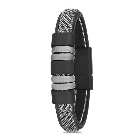 Mesh Strap Bracelet // Black