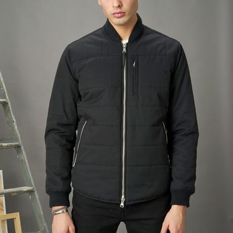 Insulated Shirt Jacket // Black (XS)