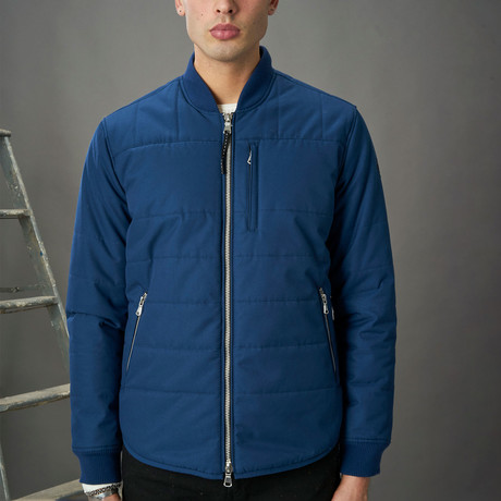 Insulated Shirt Jacket // Azure (XS)
