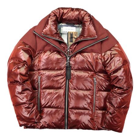 Puffer Jacket // Brick (XS)