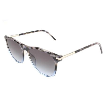 Unisex 49-S TNS Sunglasses // Spotted Gray + Light Blue