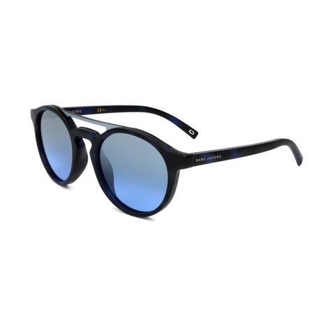 Unisex 107-S N4U-I5 Sunglasses // Black + Blue
