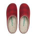 Pine House Slipper // Red Plated + Beige Stitching + Beige Sole (Euro: 44)