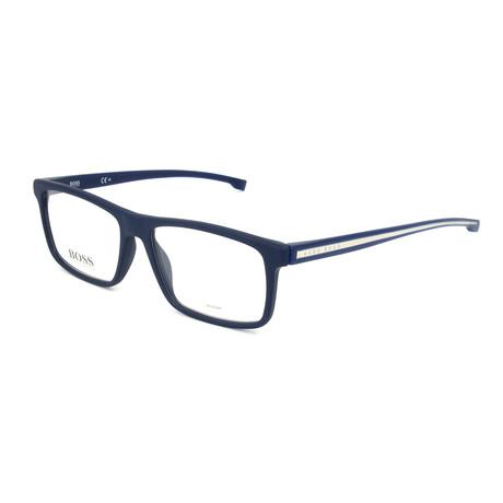 Men's 0876-N-FLL Optical Frames // Matte Blue