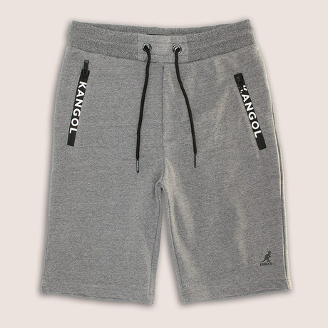 Syro Fleece Short // Gray Marl (S)