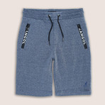 Syro Fleece Short // Navy Marl (S)