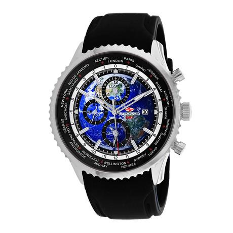 Seapro Meridian World Timer GMT Quartz // SP7520