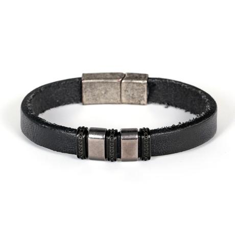 Cade Bracelet // Matte Black