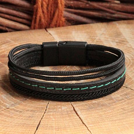 Lincoln Bracelet // Multicolor + Black