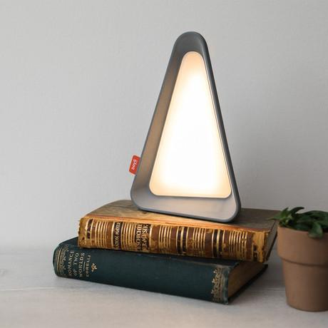 Gravity Flip Lamp // Gray // Warm White Light