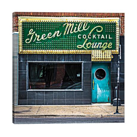 "Green Mill Cocktail Lounge // Raymond Kunst (18""W x 18""H x 1.5""D)"