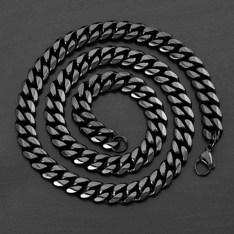 Curb Chain Necklace // 12mm