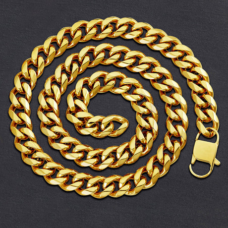 Curb Chain Necklace // 14mm