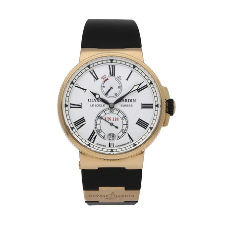 Ulysse Nardin Marine Chronometer Manufacture Automatic // 1186-122-3/40 // Pre-Owned