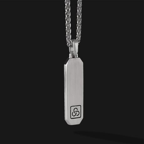 Signature Pendant // Silver