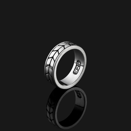 Royale Ring // Silver (8.5)