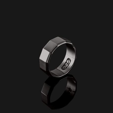 Essential Ring // Black + Gold (8.5)