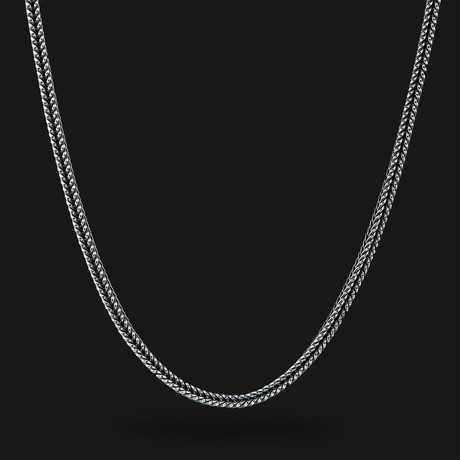Fox Tail Chain // Silver