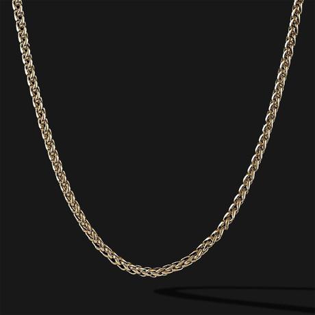 Wheat Chain // Gold