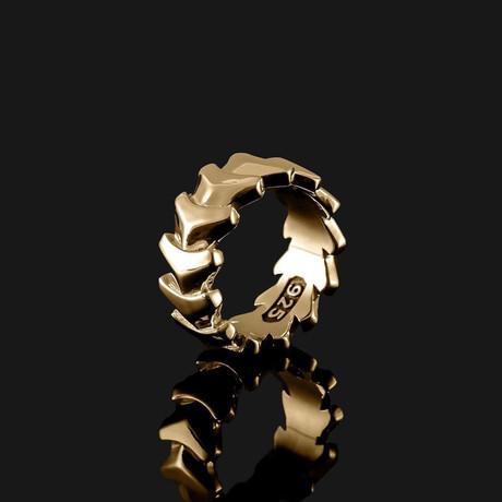 Kudos Ring V.3 // Gold (8.5)